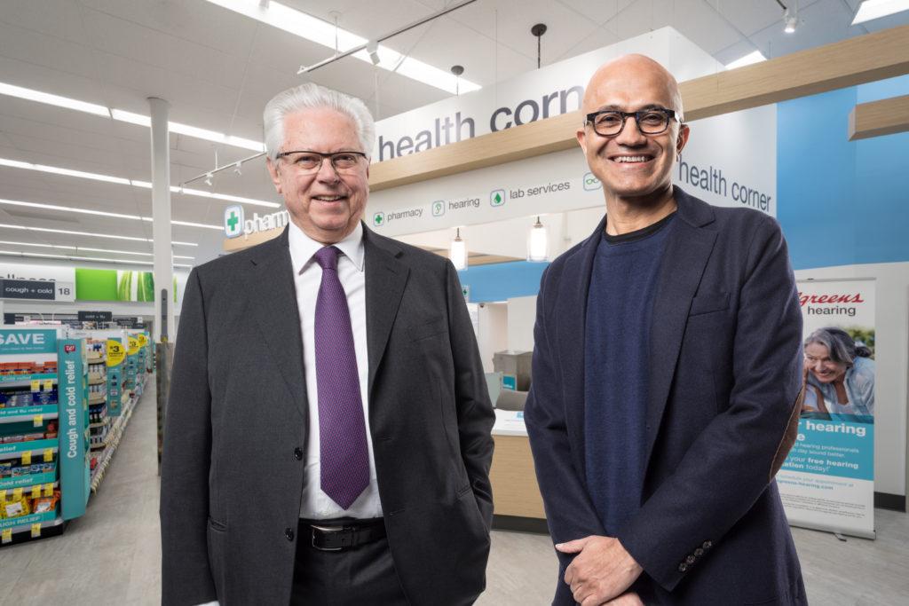 Walgreens Boots Alliance e Microsoft estabelecem parceria para transformar prestação de serviços de saúde